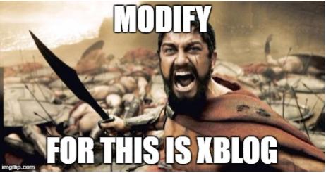 modifyxblog